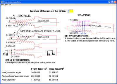 Gear design Software, gear technology, gear design, gear manufacturing