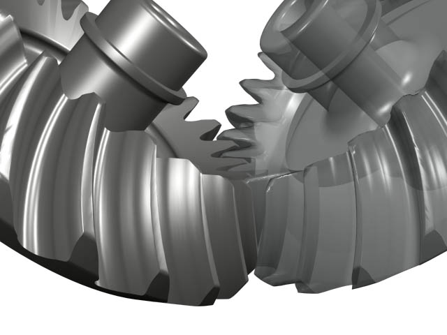 Bevel Gear Animation : Gear design software technology
